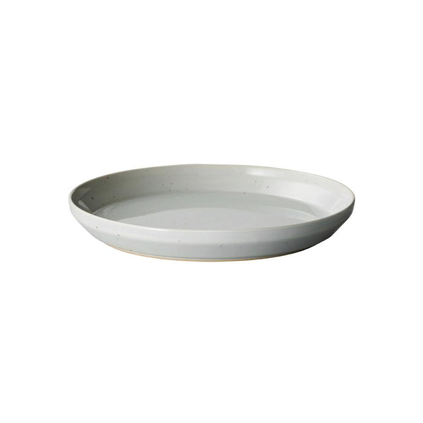 KINTO RIM PLATE 205MM / 8IN EARTH GRAY