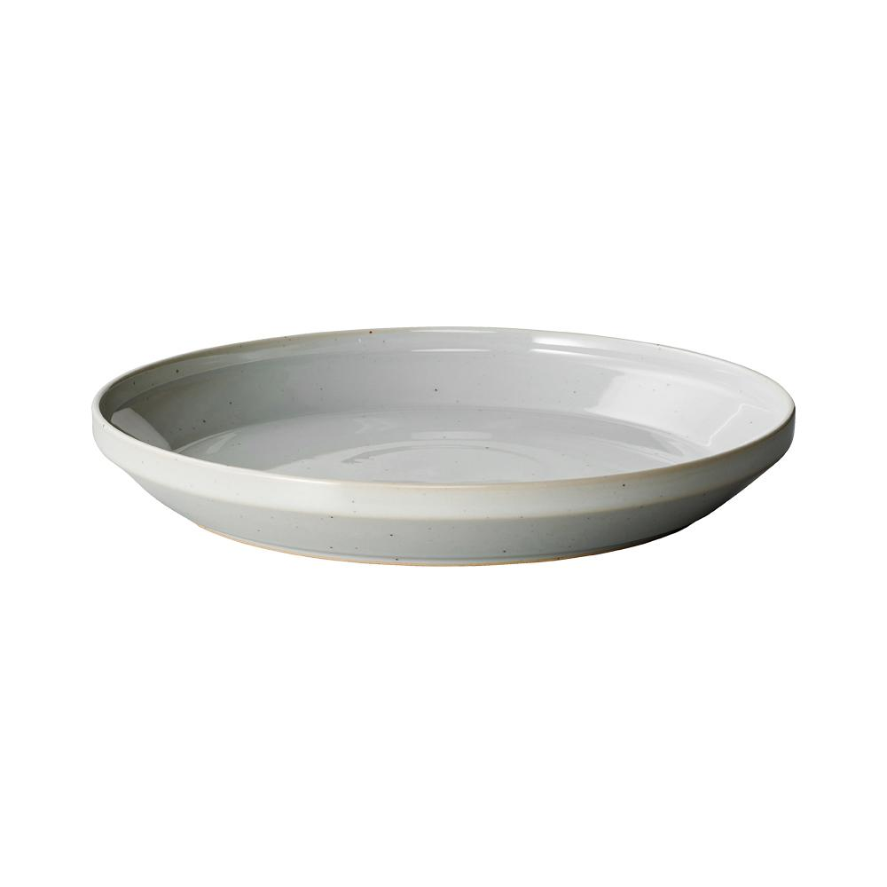 KINTO RIM PLATE 240MM / 10IN  EARTH GRAY