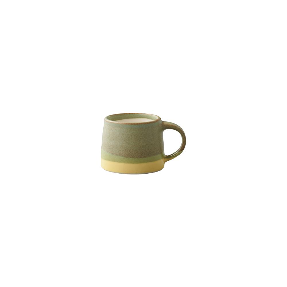 KINTO SCS-S03 MUG 110ML / 4OZ  MOSS GREEN X YELLOW