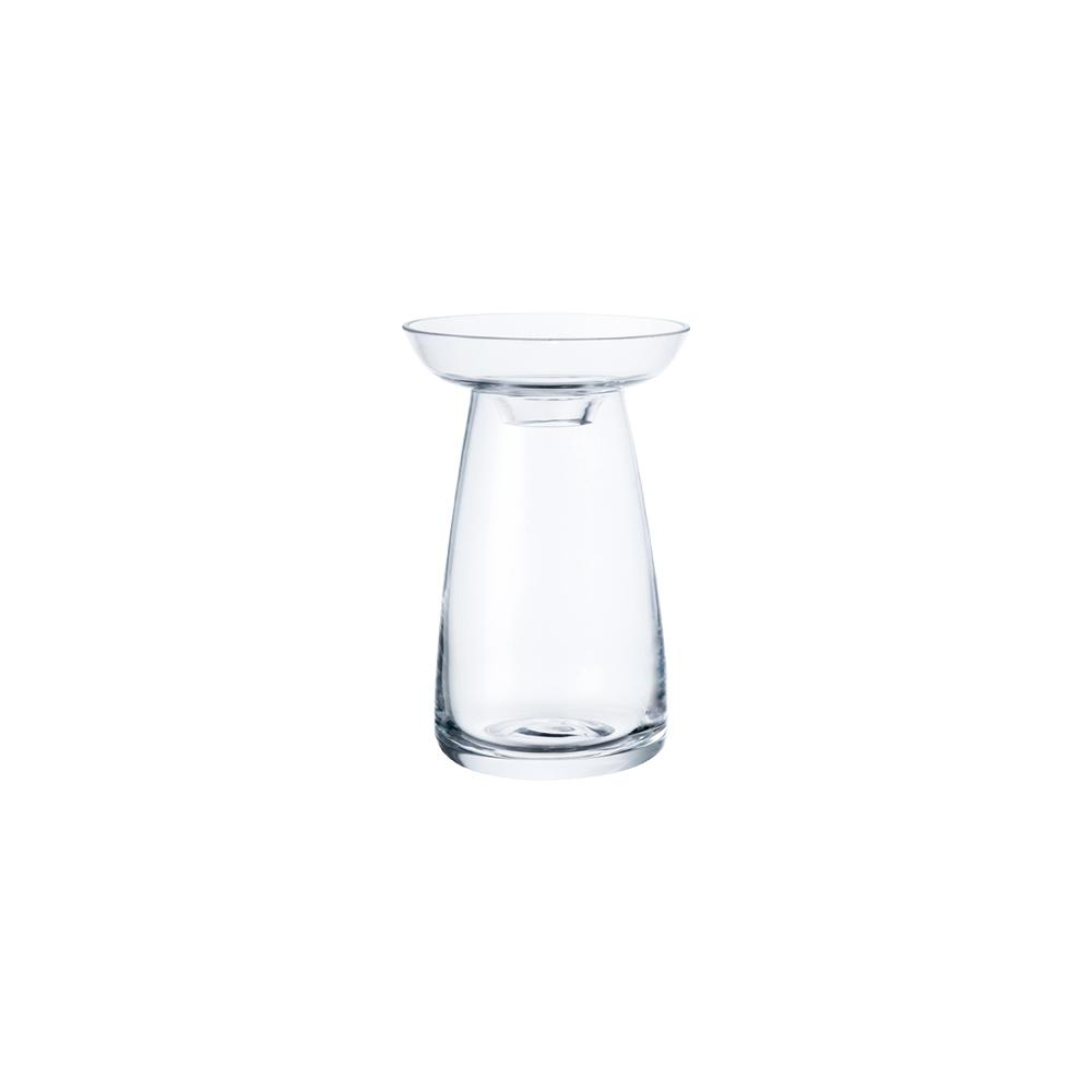 KINTO AQUA CULTURE VASE 80MM / 3IN  CLEAR