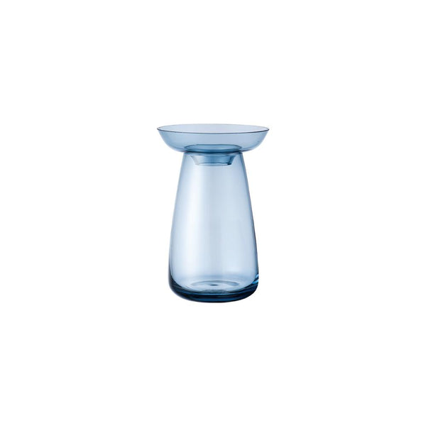 KINTO AQUA CULTURE VASE 80MM / 3IN BLUE