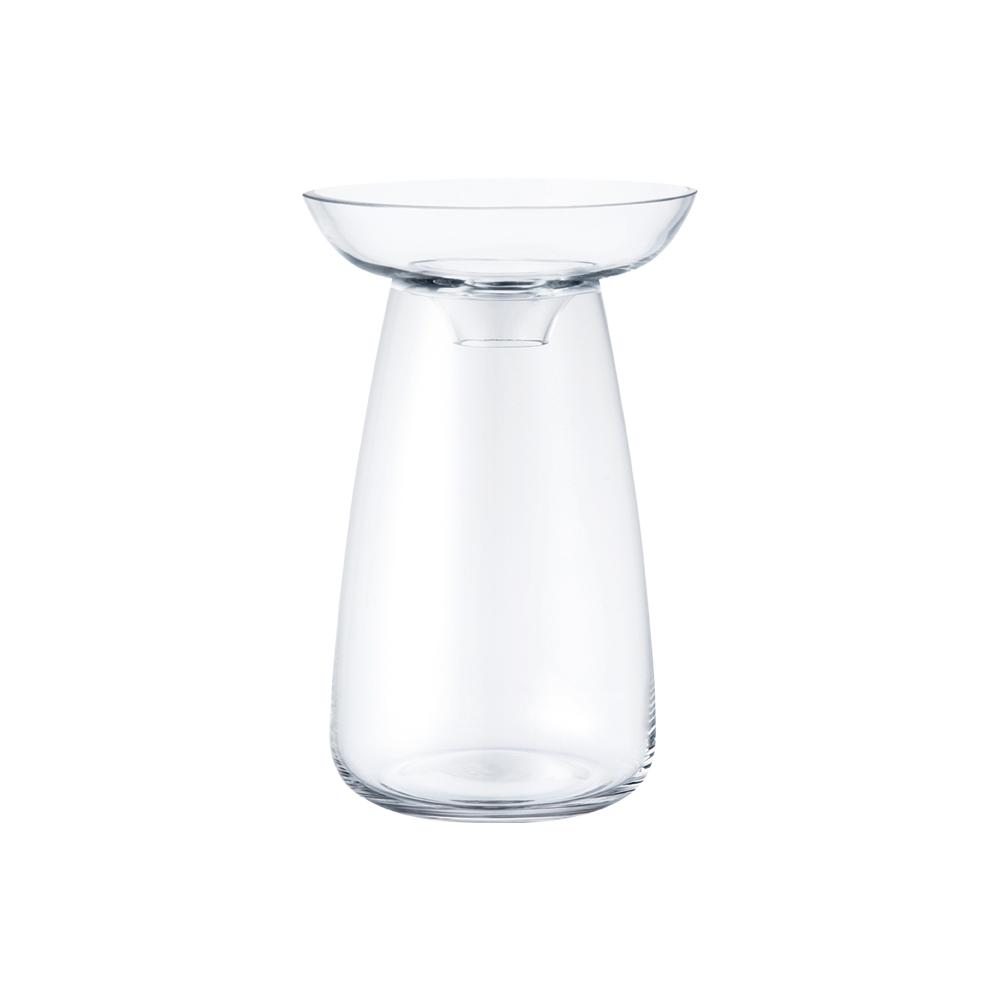KINTO AQUA CULTURE VASE 120MM / 5IN  CLEAR