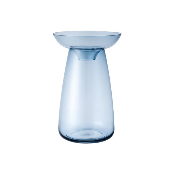 KINTO AQUA CULTURE VASE 120MM / 5IN BLUE