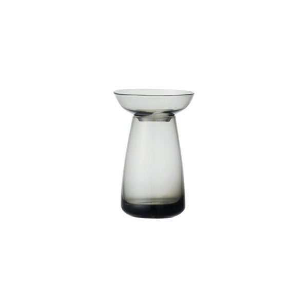 KINTO AQUA CULTURE VASE 80MM / 3IN GRAY