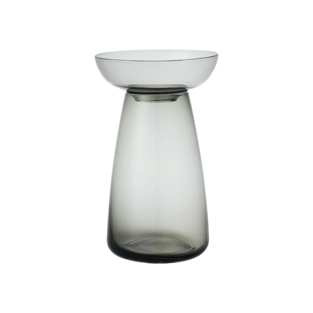 KINTO AQUA CULTURE VASE 120MM / 5IN  GRAY