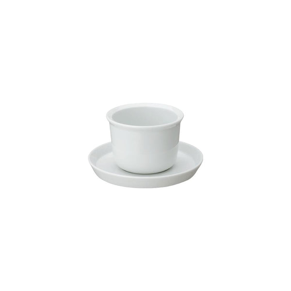 KINTO LT CUP & SAUCER 160ML / 5OZ WHITE