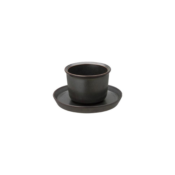KINTO LT CUP & SAUCER 160ML / 5OZ BLACK