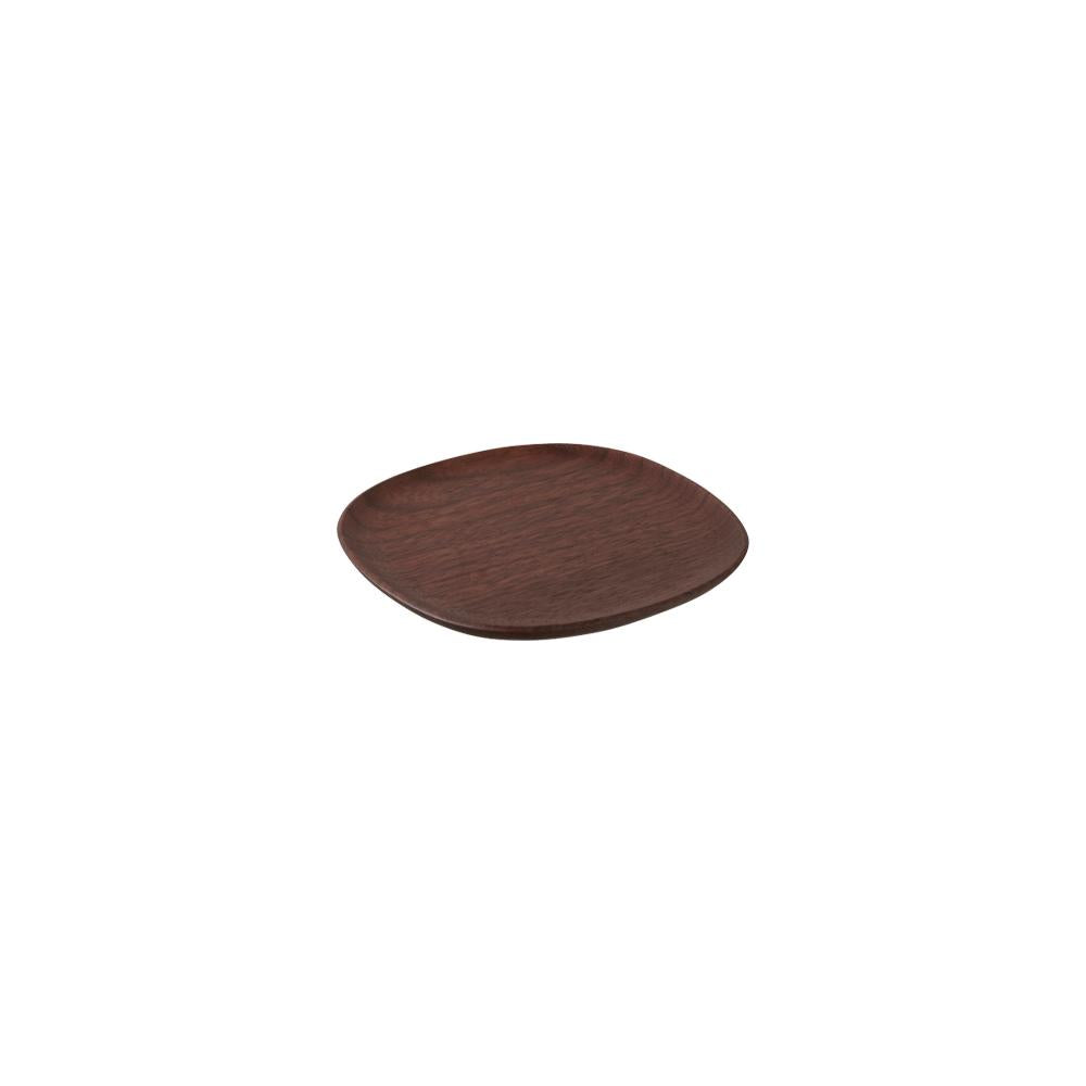 KINTO UNITEA COASTER 115×115MM / 5X5IN  WALNUT
