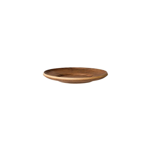 KINTO SEPIA NONSLIP SAUCER 130MM / 5IN TEAK