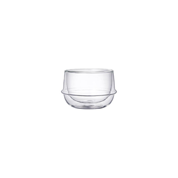 KINTO KRONOS DOUBLE WALL TEA CUP 200ML / 7OZ CLEAR