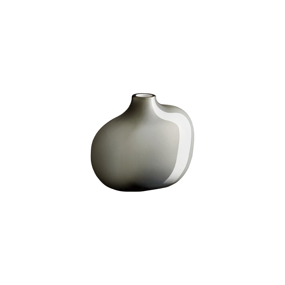 KINTO SACCO VASE GLASS 01  GRAY