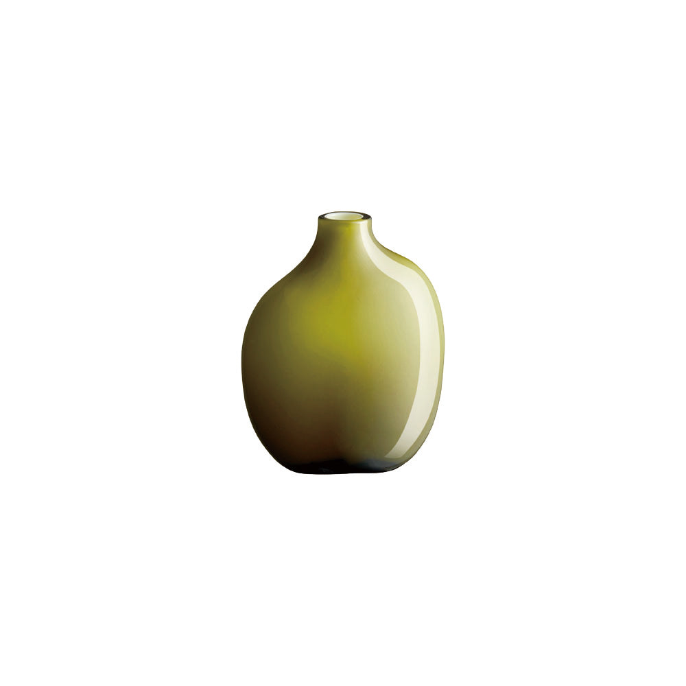 KINTO SACCO VASE GLASS 02  GREEN
