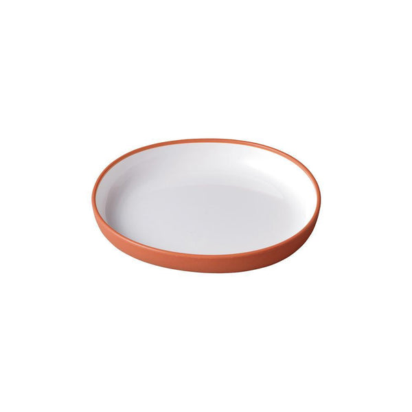 KINTO BONBO PLATE 170X160MM / 7X6IN ORANGE