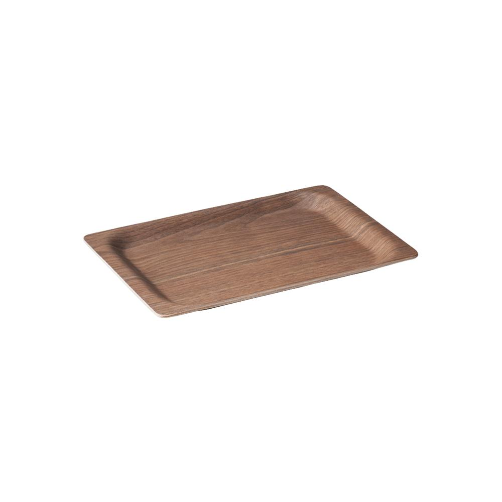 KINTO SCS TRAY 315X195MM / 13X8IN WALNUT  WALNUT