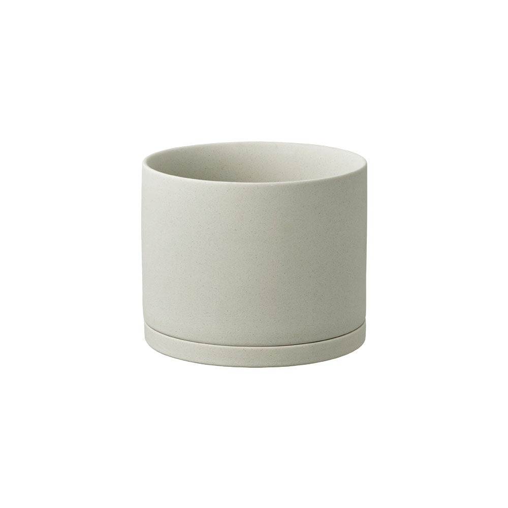 KINTO PLANT POT 191_ 135MM / 5IN  EARTH GRAY