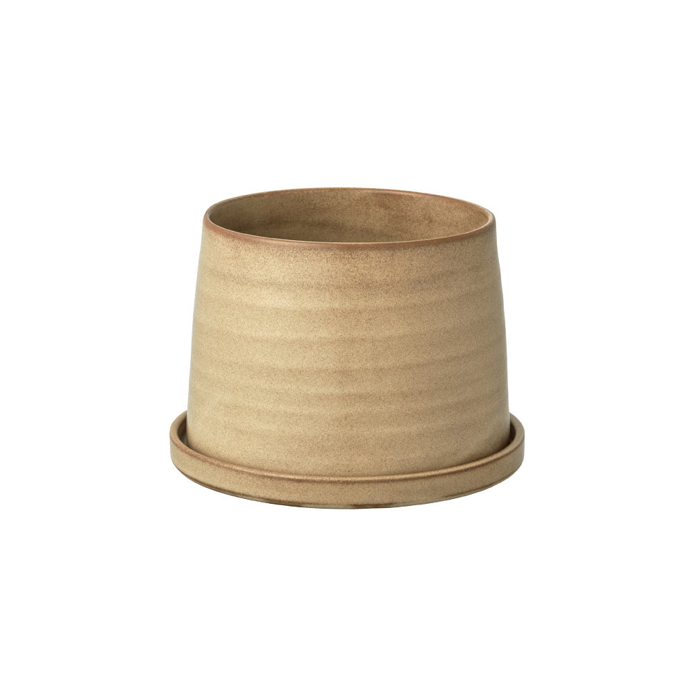 KINTO PLANT POT 192_ 125MM / 5IN  BEIGE