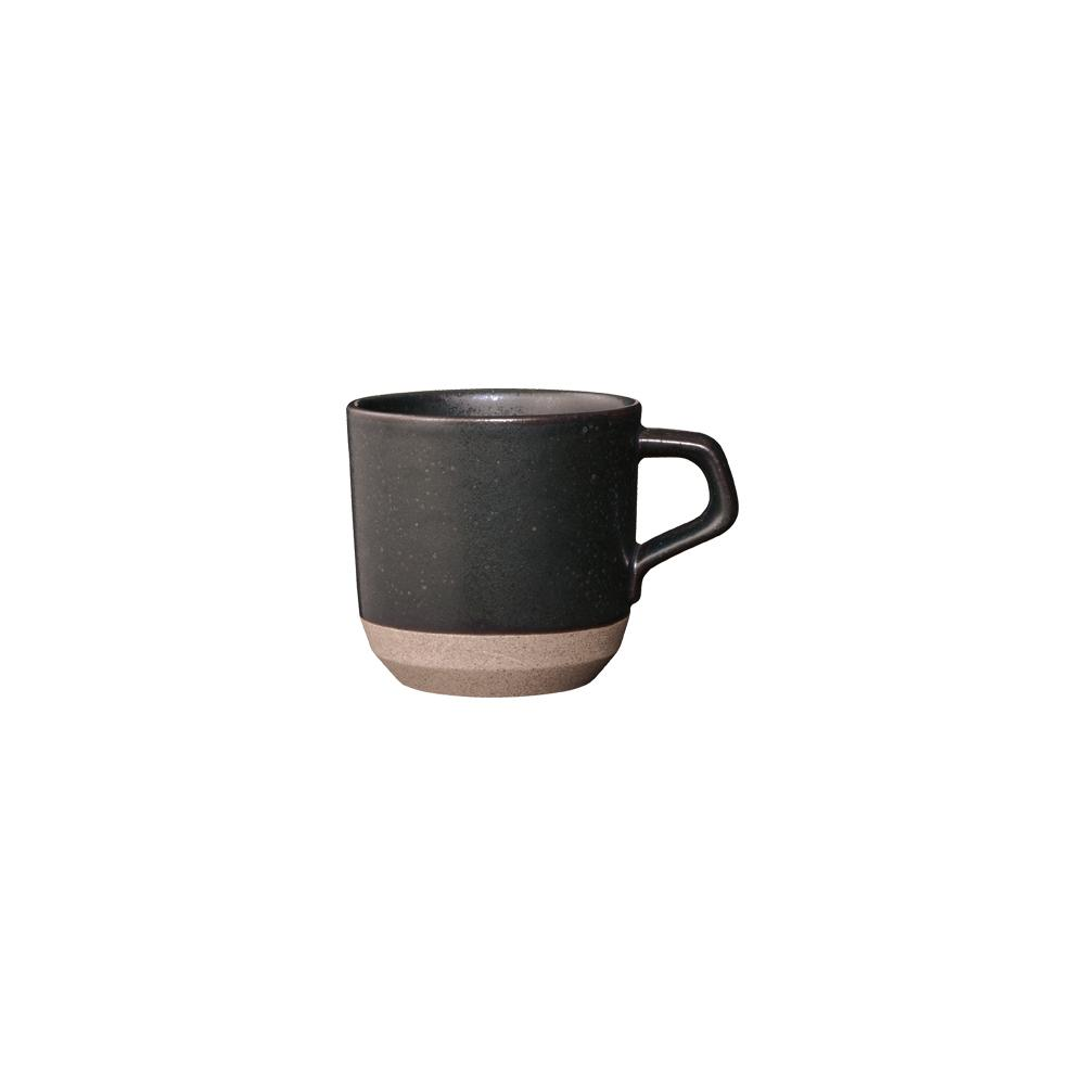KINTO CLK-151 SMALL MUG 300ML / 10OZ  BLACK