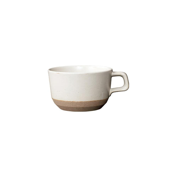 KINTO CLK-151 WIDE MUG 400ML / 14OZ WHITE