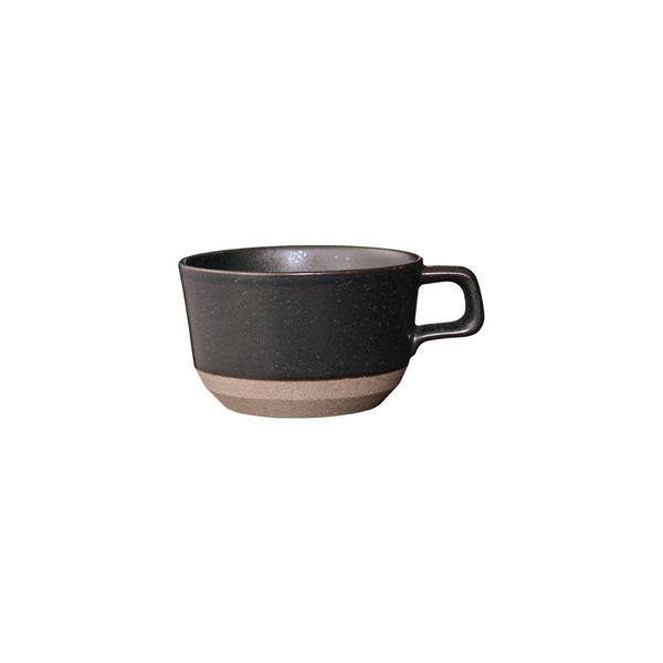 KINTO CLK-151 WIDE MUG 400ML / 14OZ BLACK
