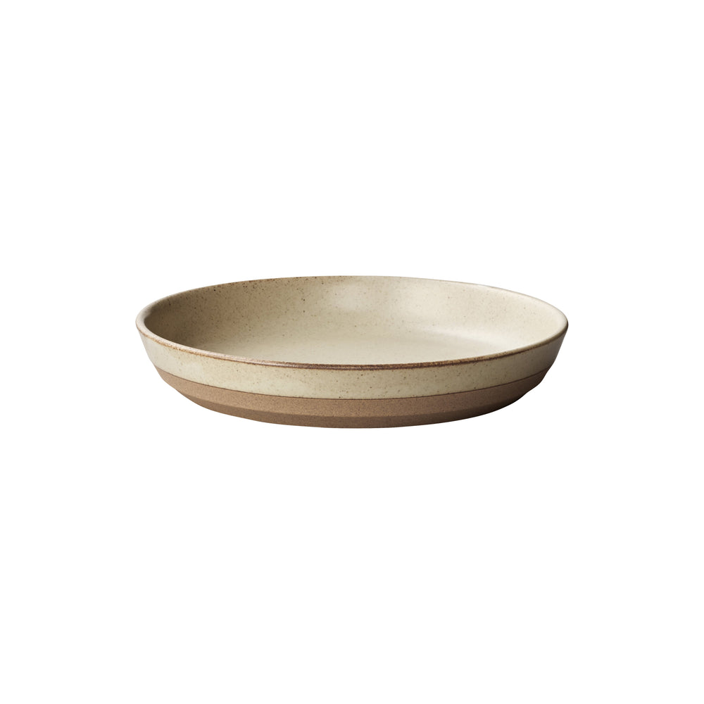 KINTO CLK-151 DEEP PLATE 210MM / 8IN  BEIGE