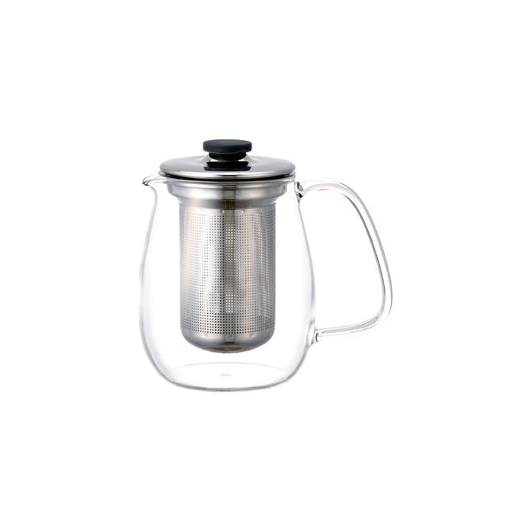 KINTO UNITEA TEAPOT 680ML / 24OZ STAINLESS STEEL GRAY-NO-COLOR
