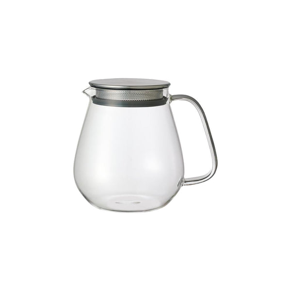 KINTO UNITEA ONE TOUCH TEAPOT 720ML / 25OZ GRAY-NO-COLOR
