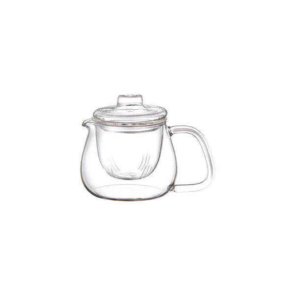 KINTO UNITEA TEAPOT 450ML / 17OZ GLASS CLEAR