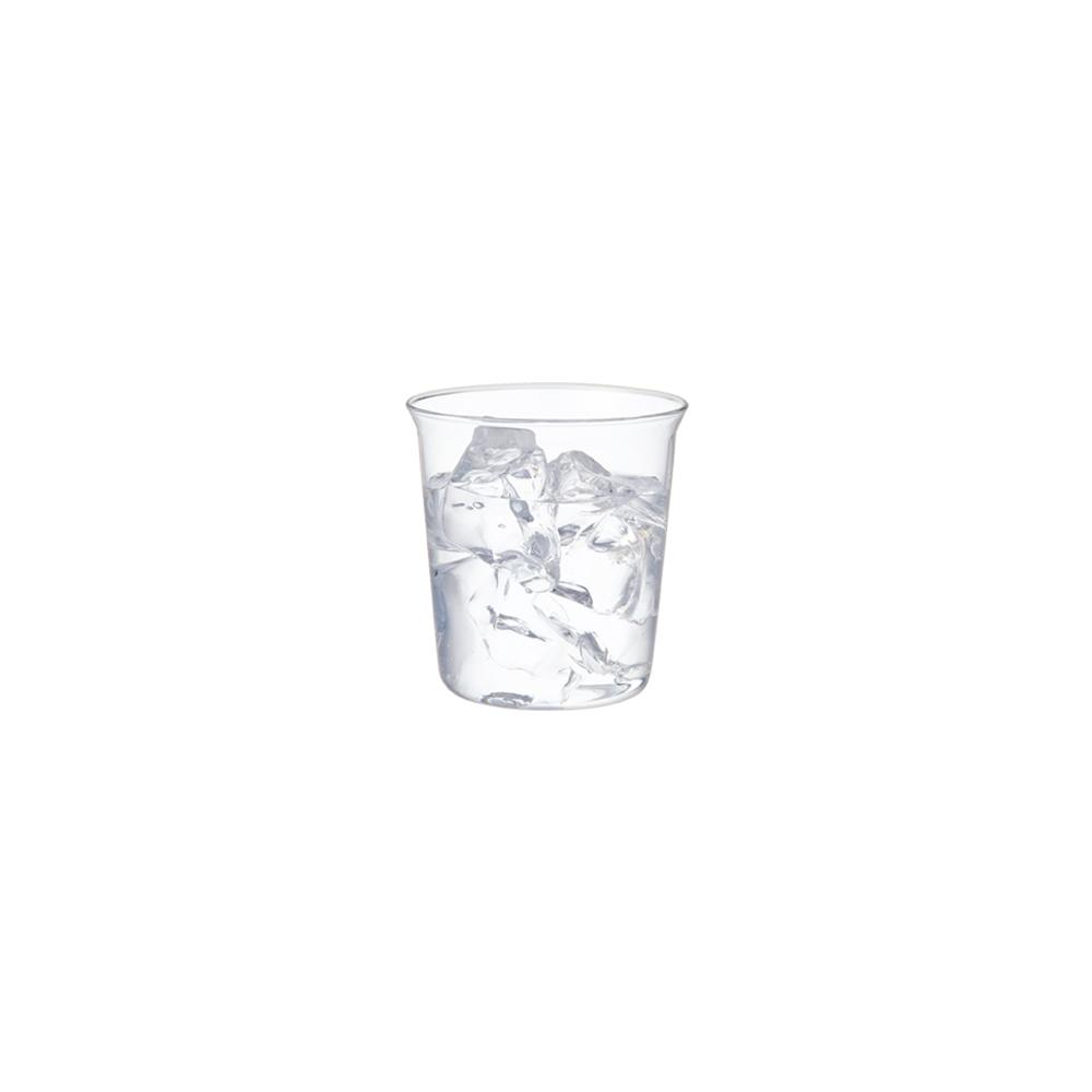 KINTO CAST WATER GLASS 250ML / 8OZ  CLEAR