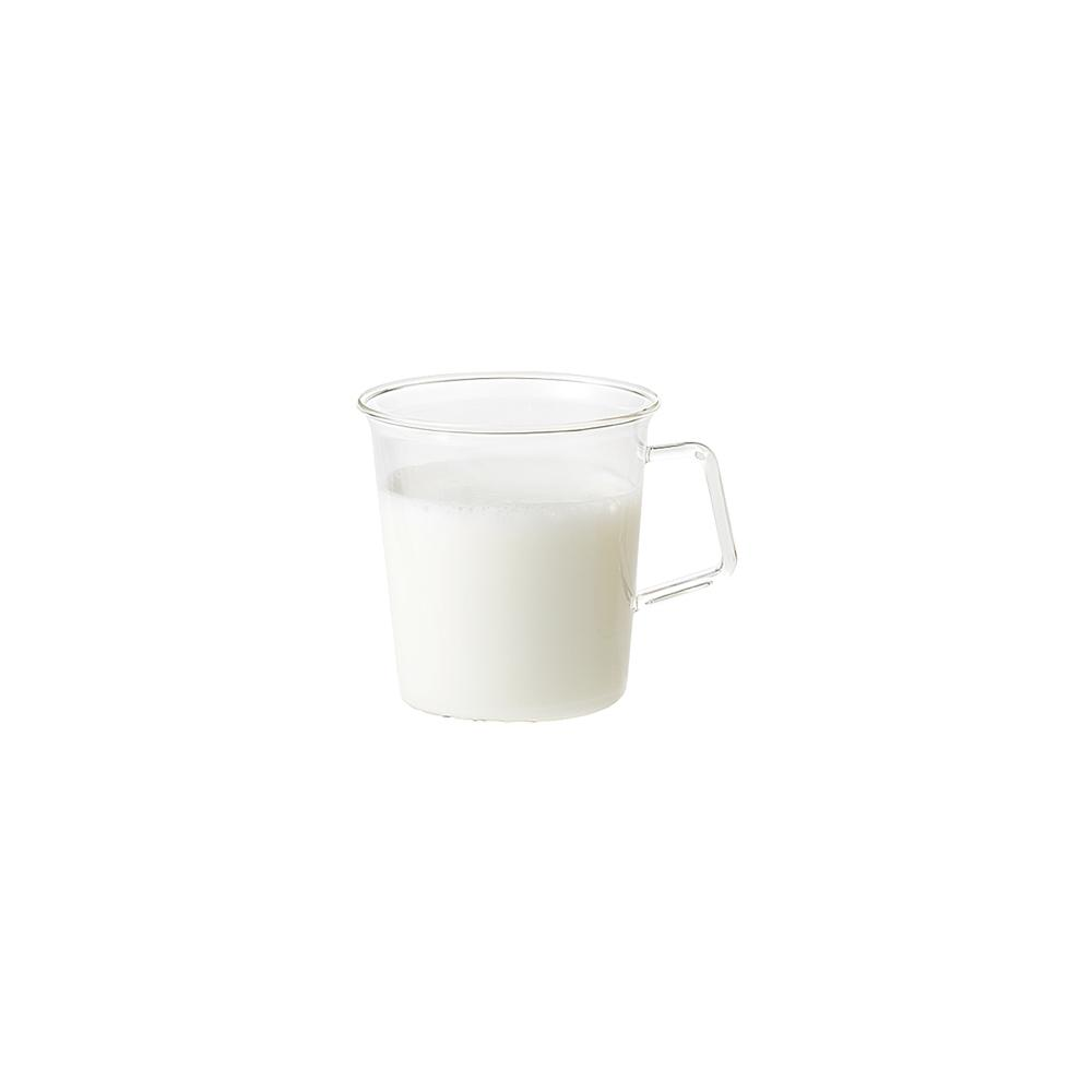 KINTO CAST MILK MUG 310ML / 10OZ  CLEAR