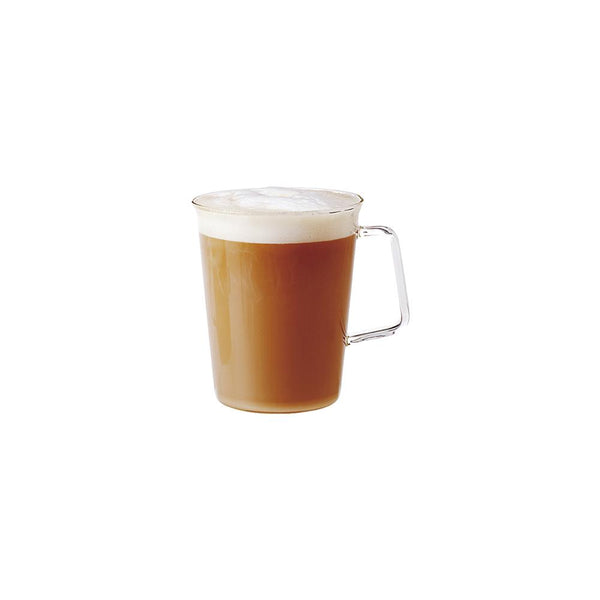 KINTO CAST CAFE LATTE MUG 430ML / 15OZ CLEAR
