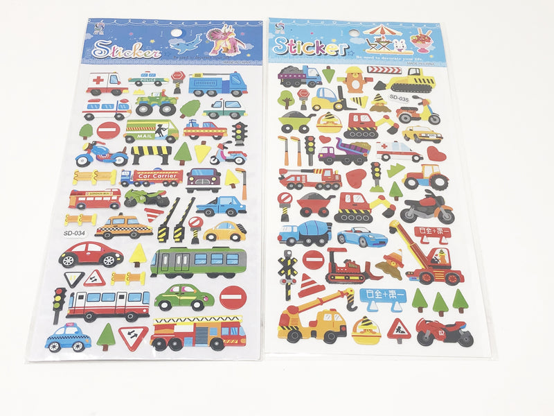 Stickers Medios de Transporte