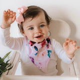 DRIBBLE BIB | FLORAL KISS