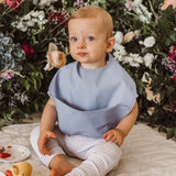 SNUGGLE BIB WATERPROOF | SKY