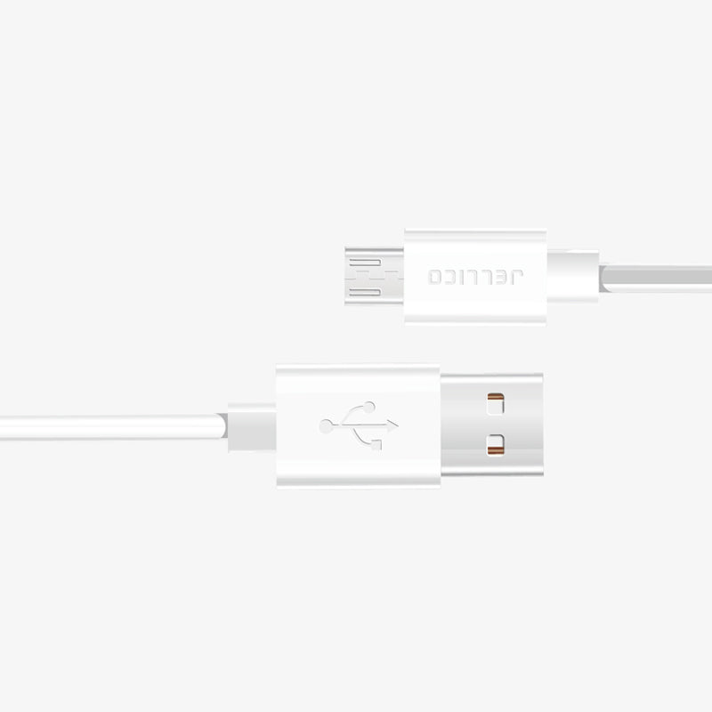 Jellico Cable Data NY-10 MicroUSB blanco