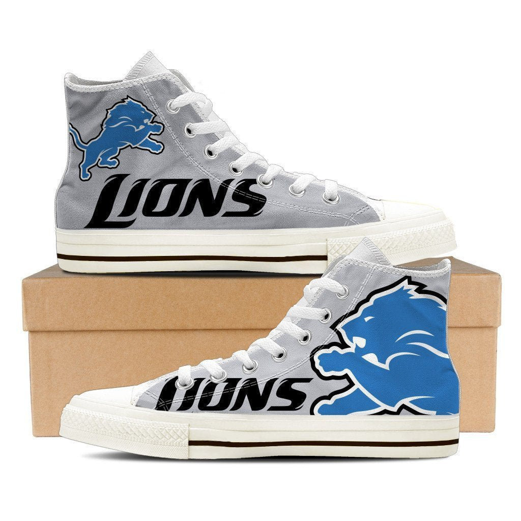 39ce83e5 detroit lions ladies high top sneakers