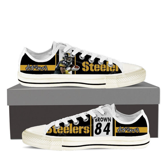 antonio brown ladies low cut sneakers