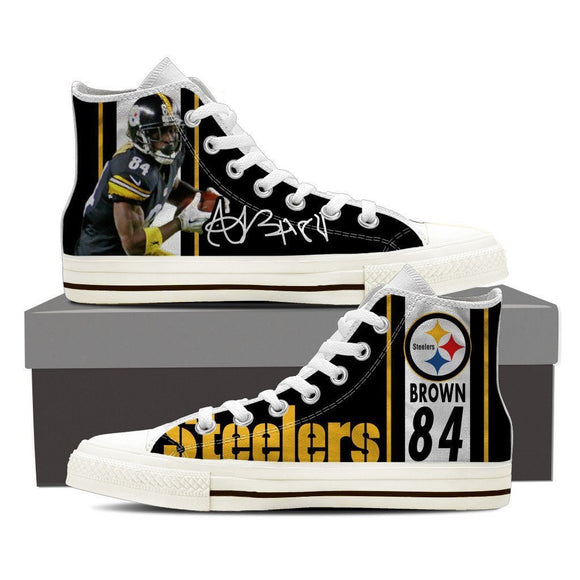 antonio brown ladies high top sneakers
