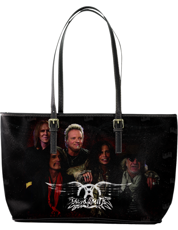 Aerosmith Incredible Large Leather Tote