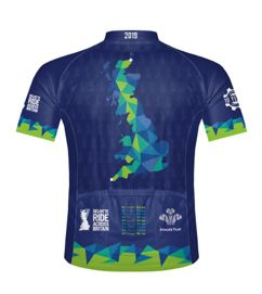 Deloitte Ride Across Britain Men's Cycling Jersey 2019