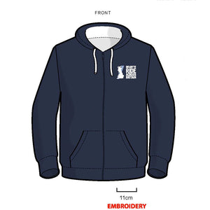 Deloitte Ride Across Britain Hoodie Zipped
