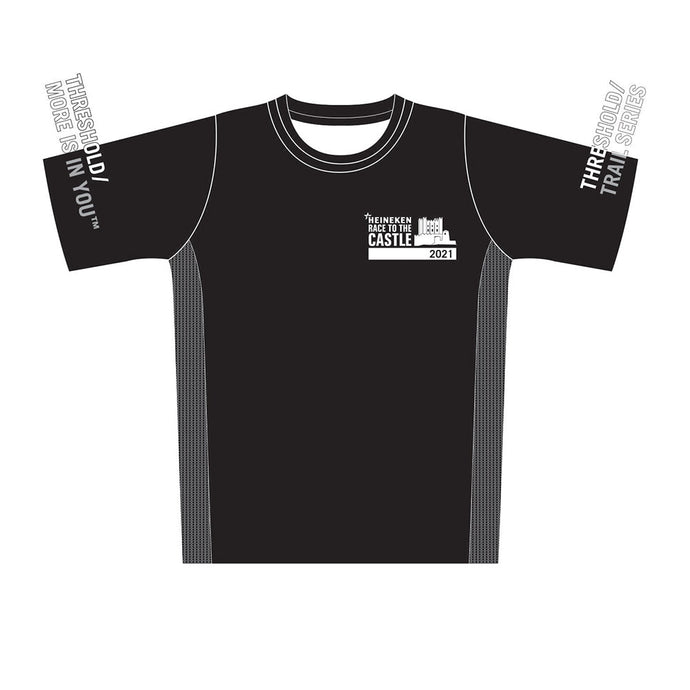 Men's HEINEKEN Race to the Castle Black Tech Top 2021 - PREORDER
