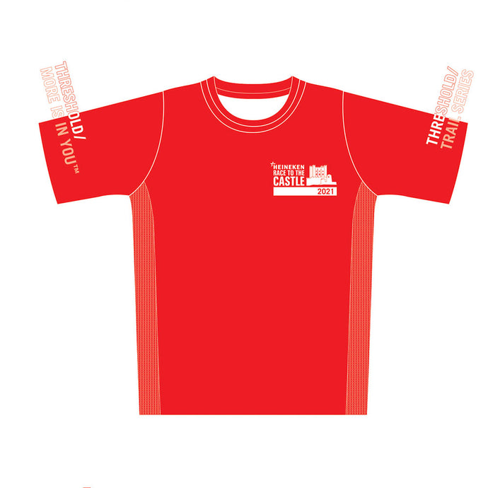 Men's HEINEKEN Race to the Castle Red Tech Top 2021 - PREORDER