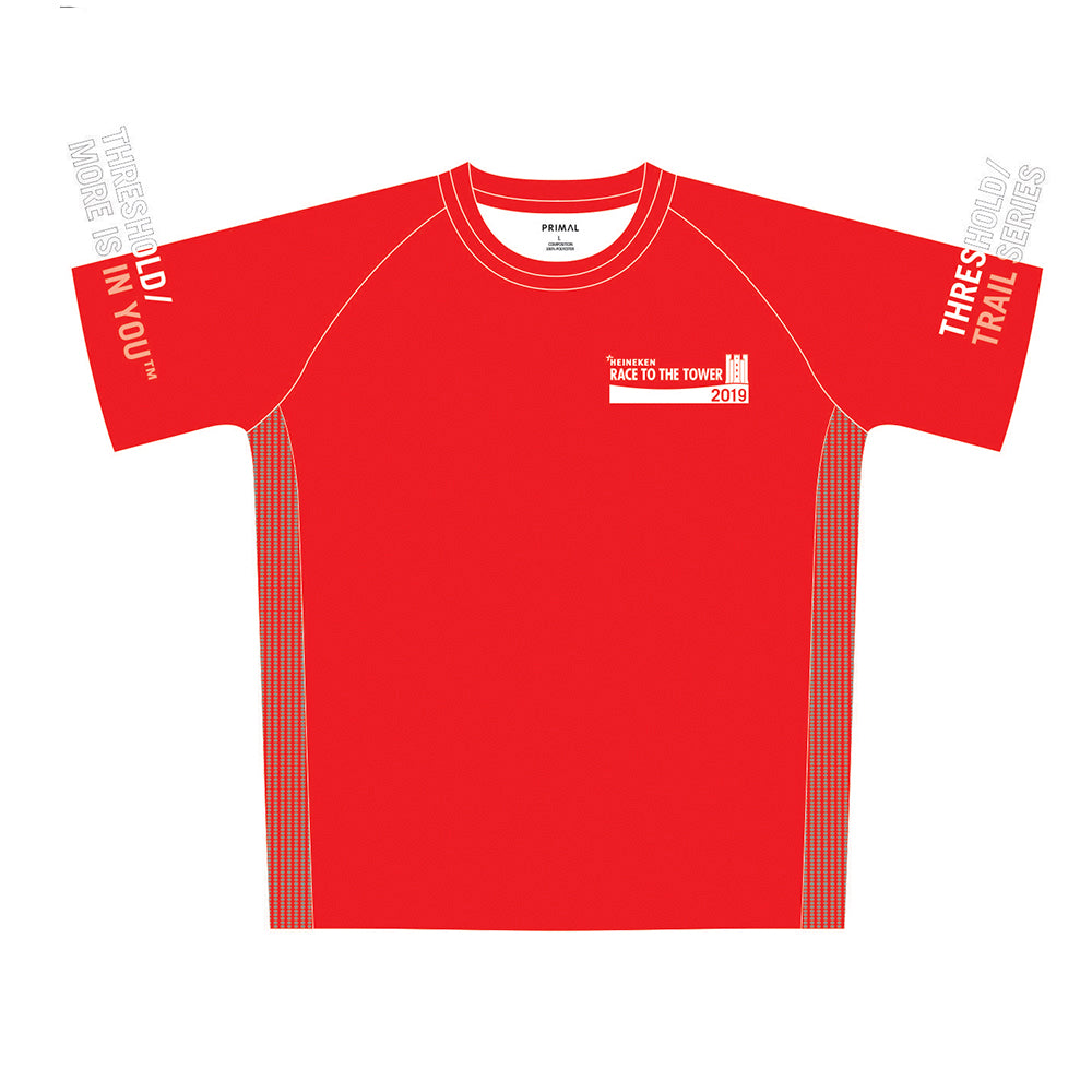HEINEKEN Race to the Tower Women's Red Tech Top
