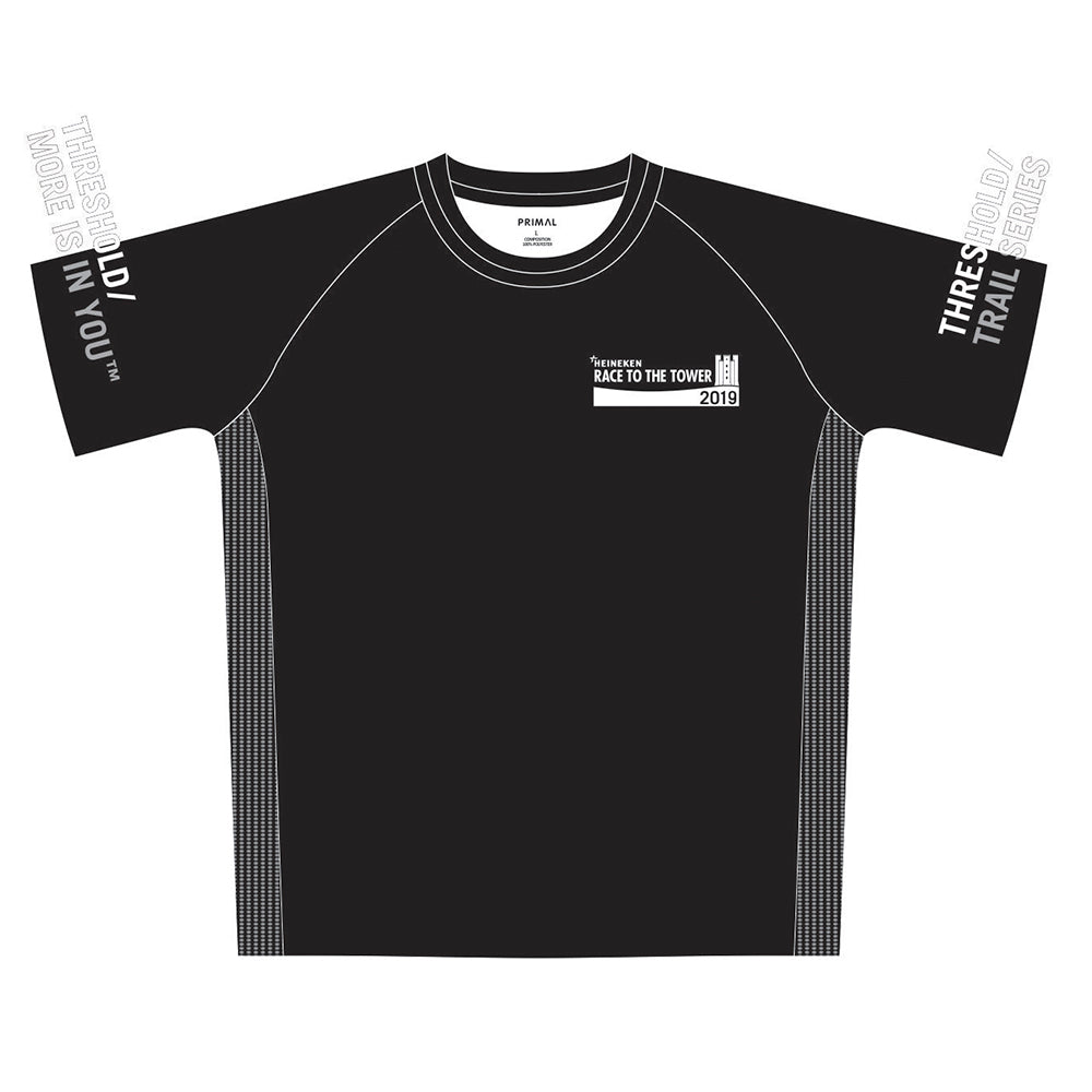 HEINEKEN Race to the Tower Men's Black Tech Top
