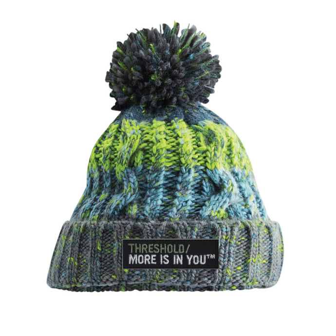2021 Threshold Sports Bobble Hat Green - PREORDER