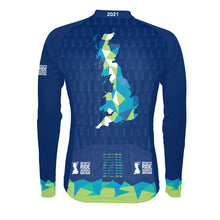 Load image into Gallery viewer, Men's Deloitte Ride Across Britain L/S Cycling Jersey 2021 - PREORDER
