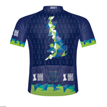 Load image into Gallery viewer, Women's Deloitte Ride Across Britain Cycling Jersey 2021 - PREORDER