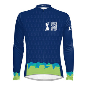 Men's Deloitte Ride Across Britain L/S Cycling Jersey 2021 - PREORDER