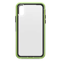 LifeProof Slam Dropproof Case Night Flash (Clear/Lime/Black) for iPhone XS/X