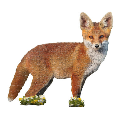 PUZZLE 100 P. I AM LIL FOX